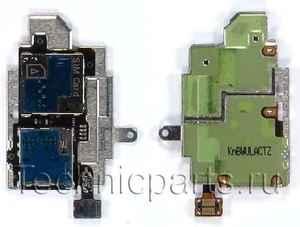 Разъем sim и flash карты для Samsung GT-I9300 Galaxy S III