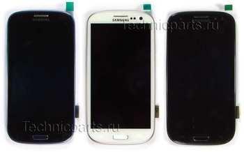 Сенсор (тачскрин) с дисплеем Samsung Galaxy S III GT-I9300