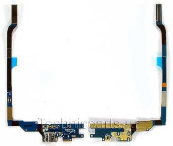 Разъем питания со шлейфом Samsung Galaxy S4 GT-I9505 LTE