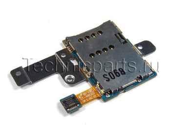 Разъем sim карты для планшета Samsung N8000