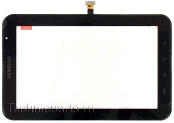 Тачскрин Samsung P1000 черный