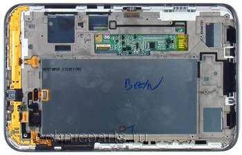 Тачскрин с матрицей для планшета Samsung P3110 P3100 черный