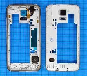 Средняя часть корпуса для Samsung SM-G900A g900f Galaxy S5