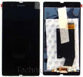 Сенсор (тачскрин) с дисплеем Sony Xperia Z L36H