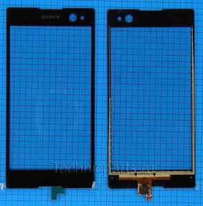 Сенсор (тачскрин) для телефона Sony Xperia C3 D2533 D2502