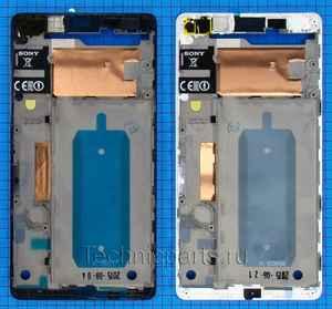 Средняя часть корпуса для Sony Xperia C4 E5333 E5343 E5363