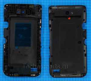 Средняя часть корпуса для телефона Sony Xperia E4
