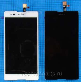Дисплей для Sony Xperia T2 Ultra XM50h, экран с тачскрином