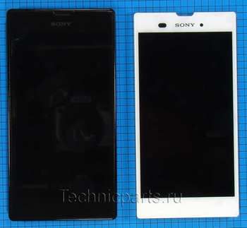 Тачскрин с дисплеем (модуль) Sony Xperia T3 M50W D5103
