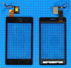 Тачскрин для Sony Xperia go ST27i