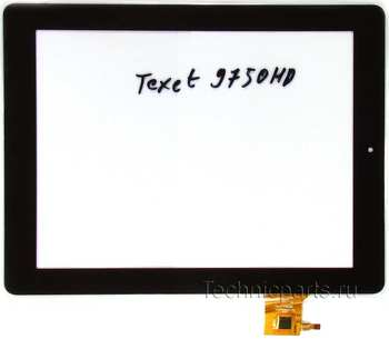 Тачскрин для планшета Texet TM-9750HD