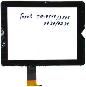 Тачскрин для планшета Texet TM-9737W TM-9738W