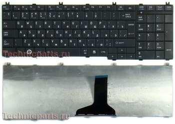 Клавиатура для ноутбука Toshiba Satellite C655