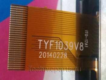 Тачскрин Tyf1039v8