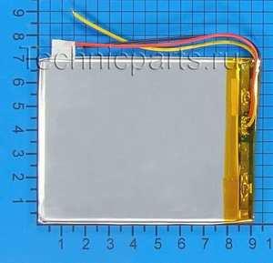 Аккумулятор 3x90x70мм 3.7V 3000mAh 3 провода
