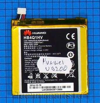 Аккумулятор для телефона Huawei Ascend D1