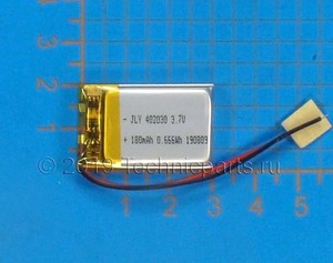Аккумулятор для видеорегистратора TeXet DVR-1GS