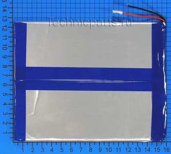 Аккумулятор 3x160x125мм 3.7V 8000mAh