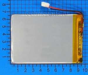 Аккумулятор 306595 3.7V 2200mAh 2 провода