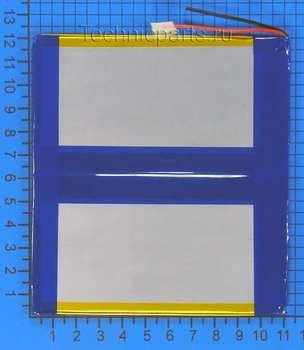 Аккумулятор 3x120x110мм 3.7V 6500mAh 2 провода
