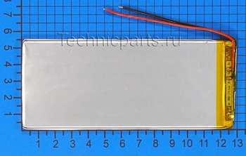 Аккумулятор 3x130x55мм 3.7V 3000mAh