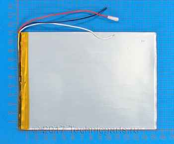 Аккумулятор 30110150 3.7V 7500mAh 3 провода