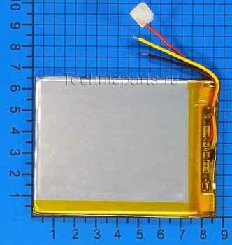 Аккумулятор 306585 3.7V 3000mAh 2 провода