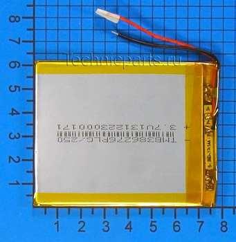 Аккумулятор 406075 3.7V 2500mAh 2 провода