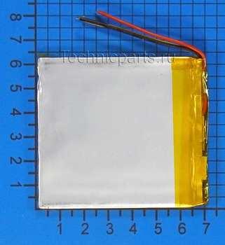 Аккумулятор 306570 3.7V 1300mAh 2 провода