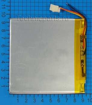 Аккумулятор 3x95x95мм 3.7V 4500mAh 3 провода