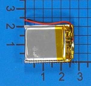 Аккумулятор 402025 3.7V 150mAh 2 провода