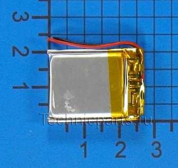 Аккумулятор 402025 3.7V 250mAh 2 провода