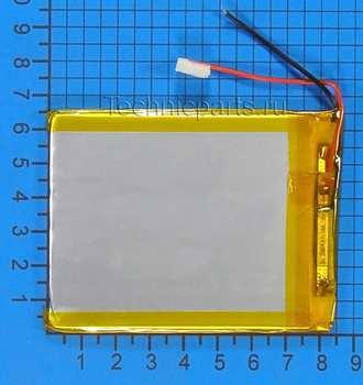 Аккумулятор 3x85x65мм 3.7V 1700mAh 2 провода