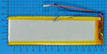Аккумулятор 3x150x45мм 3.7V 2500mAh 3 провода