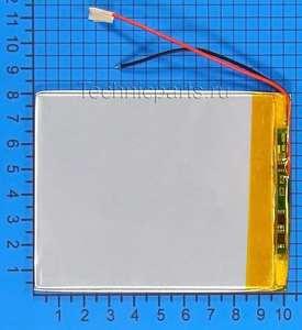 Аккумулятор 3080100 3.7V 2800mAh 2 провода