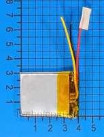 Аккумулятор 4x40x30мм 3.7V 450mAh 3 провода