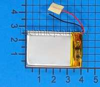 Аккумулятор 4x40x25мм 3.7V 300mAh