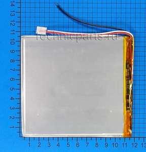 Аккумулятор 3x115x105мм 3.7V 4000mAh 3 провода