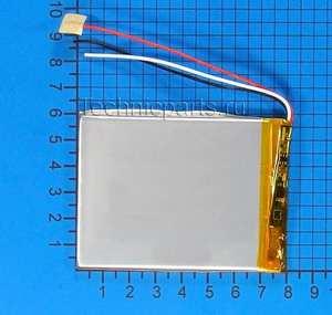 Аккумулятор 406080 3.7V 2500mAh 3 провода