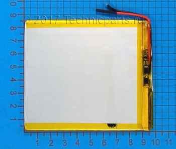 Аккумулятор 308595 3.7V 3450mAh 3 провода