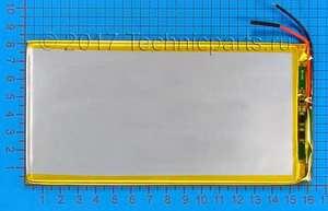 Аккумулятор 3080160 3.7V 5000mAh 2 провода