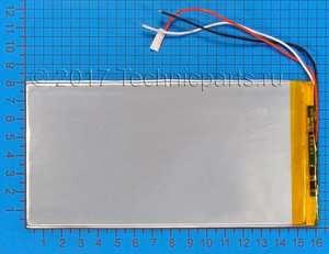 Аккумулятор 3080160 3.7V 5000mAh 3 провода