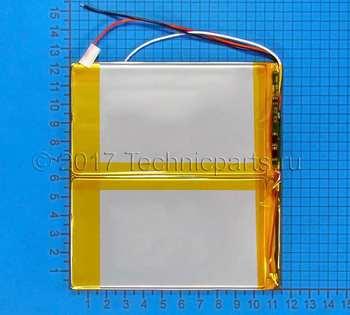 Аккумулятор 30115125 3.7V 5000mAh 3 провода