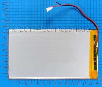 Аккумулятор 3085150 3.7V 5000mAh 2 провода