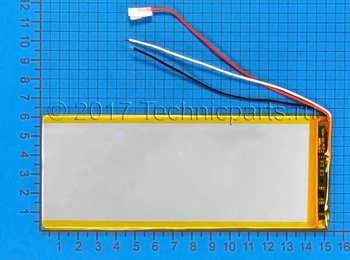 Аккумулятор 3060150 3.7V 4500mAh 3 провода