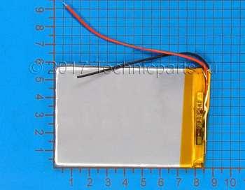 Аккумулятор 406085 3.7V 2500mAh 3 провода