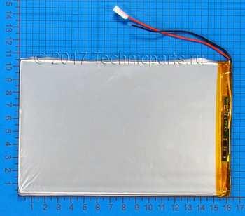 Аккумулятор 30100165 3.7V 7500mAh 2 провода