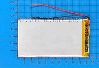 Аккумулятор 4055105 3.7V 3000mAh 2 провода