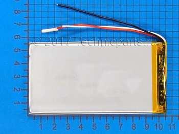 Аккумулятор 4055105 3.7V 3000mAh 3 провода