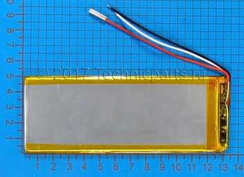 Аккумулятор 3050135 3.7V 2800mAh 3 провода